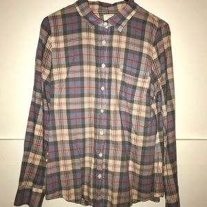 J.Crew Perfect Shirt (plaid)